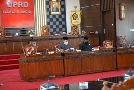 Press Release Bersama Awak Media, Pimpinan DPRD Beberkan Laporan Kinerjanya