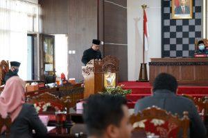 Raperda Perubahan APBD Kab. Wonogiri TA. 2020 Resmi Digedok Jadi Perda