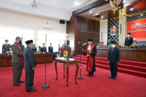 Sriyono, S.Pd Resmi Jadi Ketua DPRD, Ketua Komisi IV Digantikan Catur Winarko