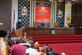 Forum Rapat Paripurna Setujui Raperda APBD Kab. Wonogiri TA. 2021 Hasil Evaluasi Gubernur Jateng Ditetapkan Menjadi Perda