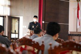 Bupati Wonogiri, Joko Sutopo Hadiri Rapat Paripurna 2 Agenda