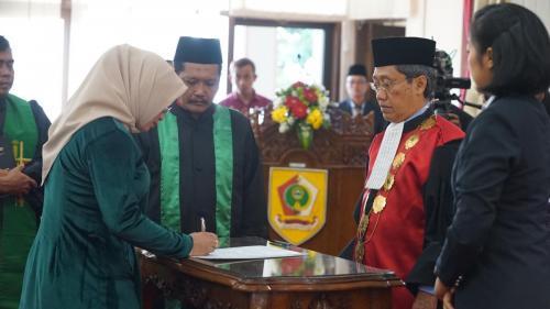 Pelantikan Anggota DPRD Kab. Wonogiri Masa Keanggotaan Tahun 2019-2024