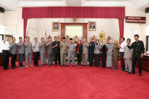 Pembentukan Alat Kelengkapan DPRD